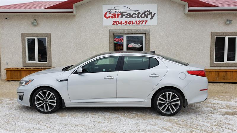 2015 Kia Optima 4dr Sdn Auto SX Turbo #P-1162A