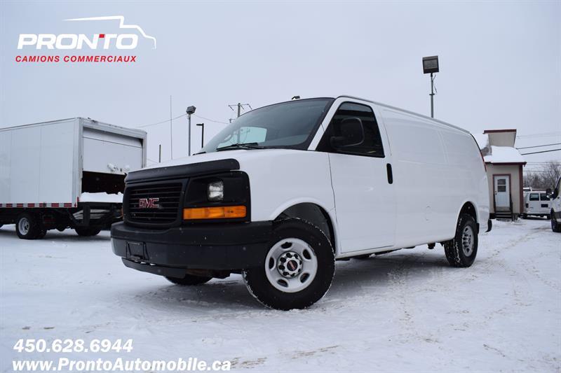 2013 GMC Savana Cargo Van 3500 4.8L Vortec ** Voir équipement **  #1153