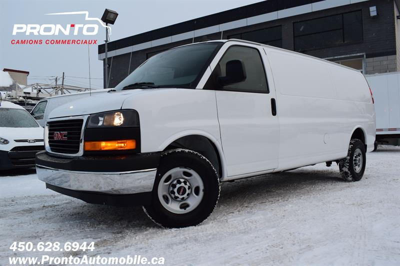 2019 GMC Savana Cargo Van 2500 ** 4.3L ** Allongé ** Transmission 8 vitesses #1155