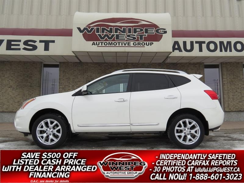 2011 Nissan Rogue SL AWD, NAV, ROOF,  HTD LEATHER, BLUETOOTH, LOW KM #GIW5338