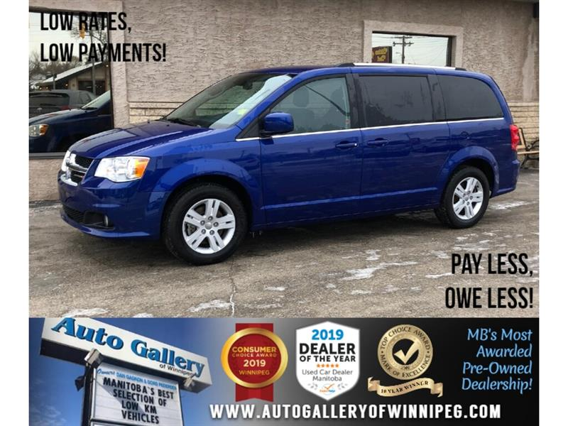 2018 Dodge Grand Caravan Crew Plus *Htd Lthr/Navi/B.tooth/Power Doors #24004