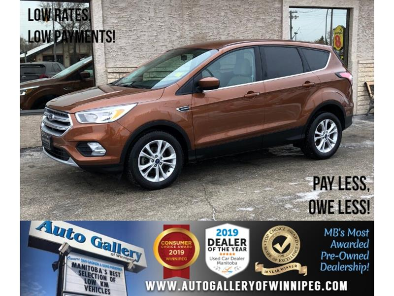 2017 Ford Escape SE *Accident Free/B.tooth/Back.Cam/Htd Seats #24033