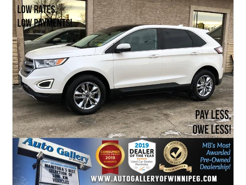 2016 Ford EDGE SEL *1 Owner/AWD/Navi/B.tooth/Htd Lthr/Roof #24116