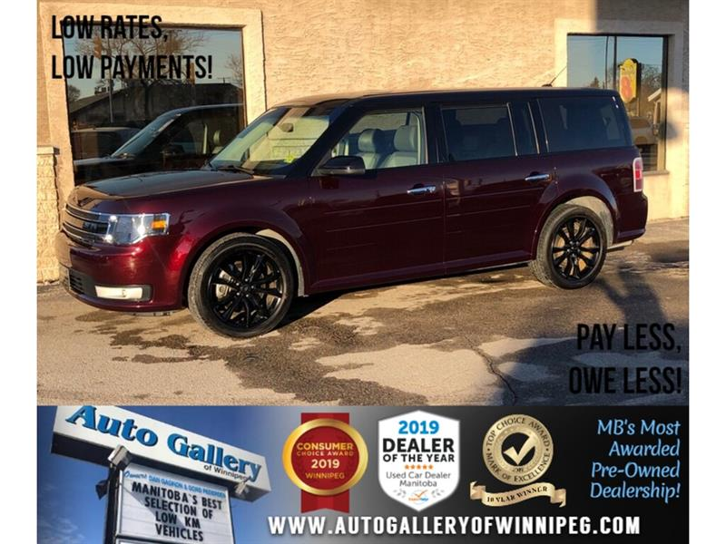 2019 Ford Flex SEL *AWD/Navi/B.tooth/Pano Roof/Htd Lthr/7Pass #24151