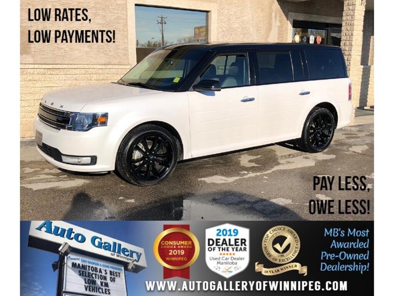 2019 Ford Flex SEL *AWD/Navi/B.tooth/Pano Roof/Htd Lthr/7Pass #PR-24152