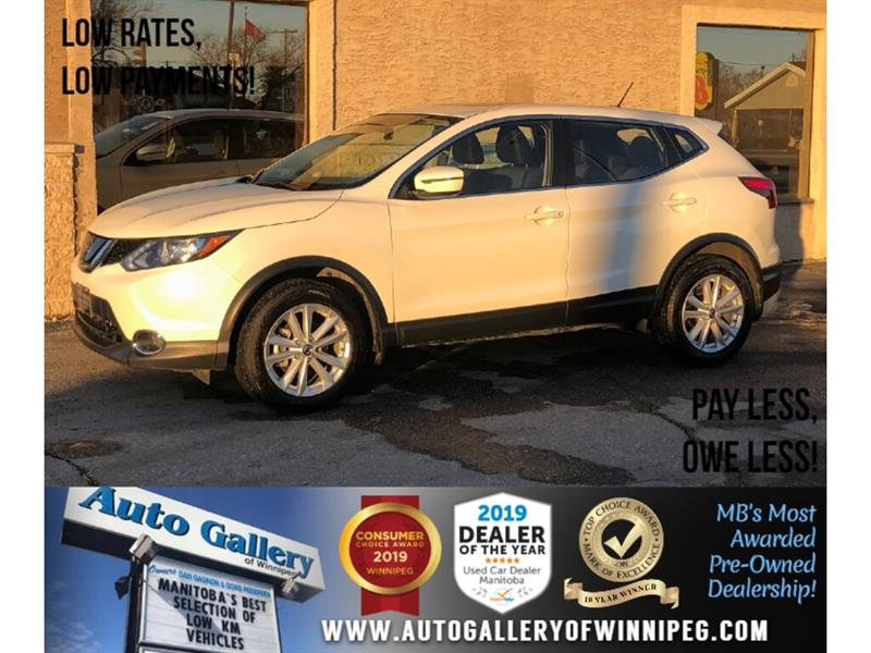 2019 Nissan Qashqai SV *AWD/B.tooth/Back.Cam/Htd Seats/Roof #24158