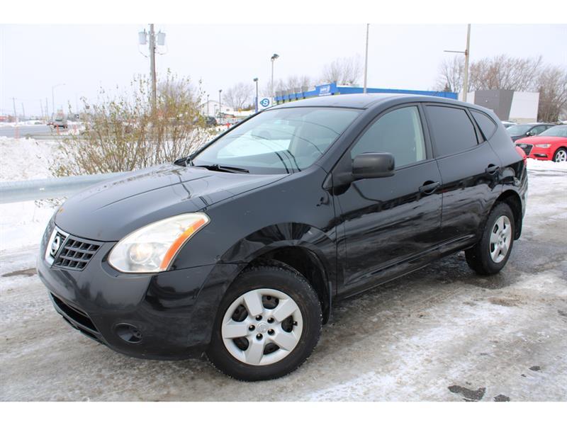 Nissan Rogue 2008 S A/C CRUISE PNEUS HIVER SUR MAGS!! #4962
