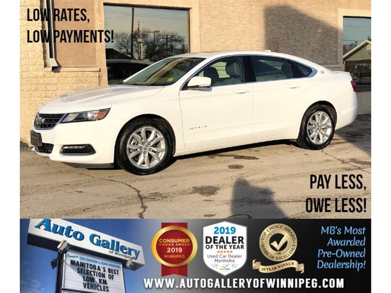 2019 Chevrolet Impala LT *Bluetooth/Back.Cam/Lthr/Roof/V6 #24190