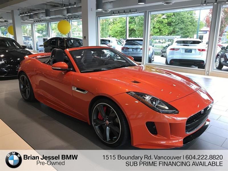 2017 Jaguar F-TYPE AWD #BPS105