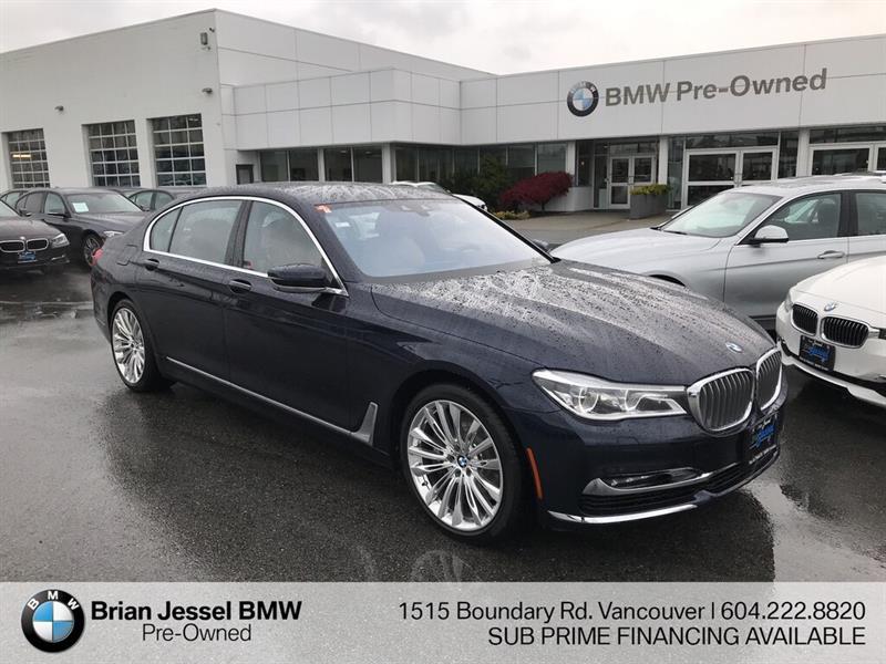 2016 BMW 750LI #BP8775