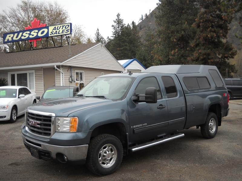 2007 GMC Sierra 2500HD SLE Z71 LONG BOX 4X4 #3446