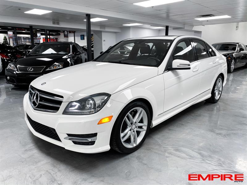 Mercedes-Benz Classe-C 2014 C300 4MATIC 3.0L V6 #SN5932