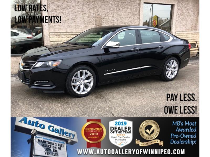 2019 Chevrolet Impala Premier *Navi/B.tooth/Htd Lthr/Roof/V6 #24170