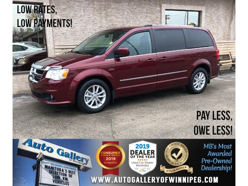 2017 Dodge Grand Caravan Crew Plus *B.tooth/Htd Lthr/Pwr Slide Doors #24178