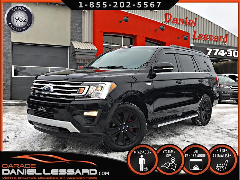 Ford Expedition 2018 XLT FX4, TOIT PANO, CUIR VENTILÉ+CHAUFFANT, GPS, + #89619