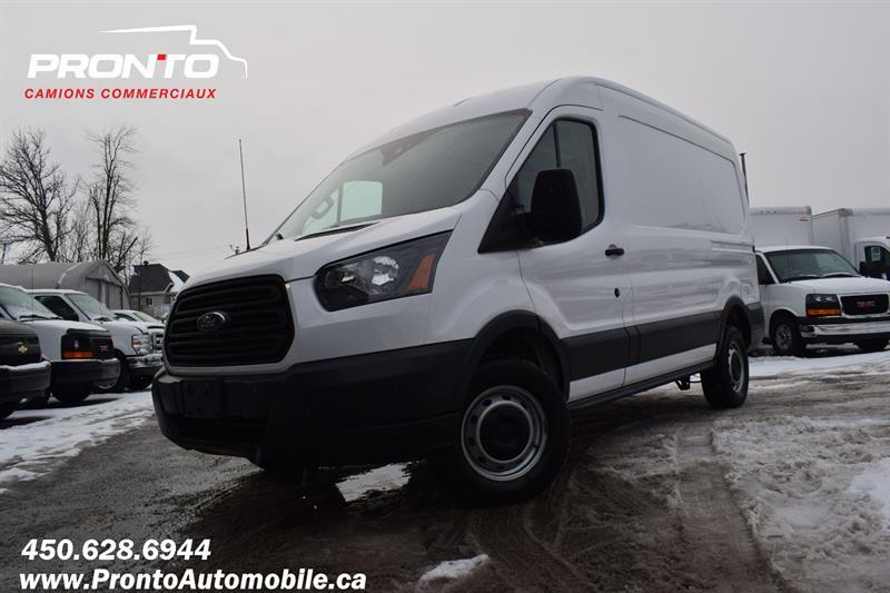 2016 Ford Transit Cargo Van T-250 130 Med Rf 9000 GVWR Sliding RH Dr #1158