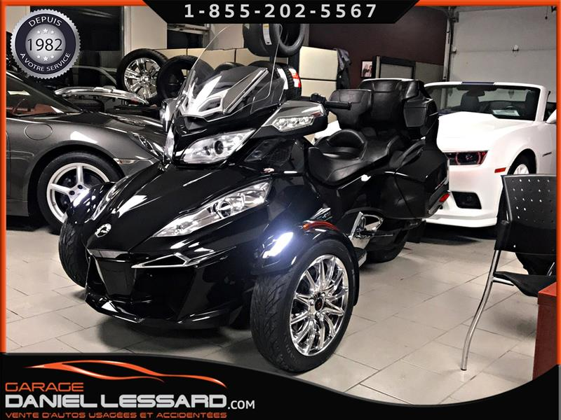 Can-am Spyder 2015 BRP SPYDER ROADSTER RT LIMITED 1330, TRÈS BAS KM ! #35524