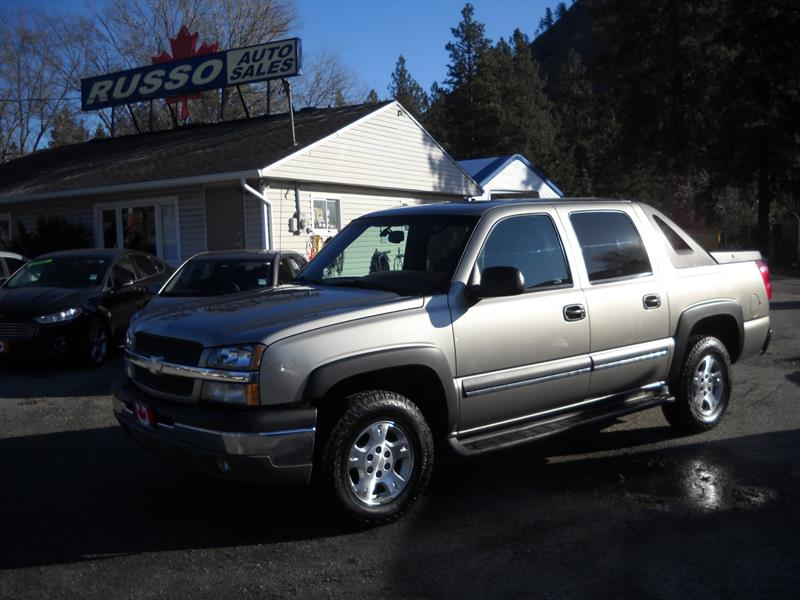 2003 Chevrolet Avalanche 1500 4X4 Z71 PKG #3445