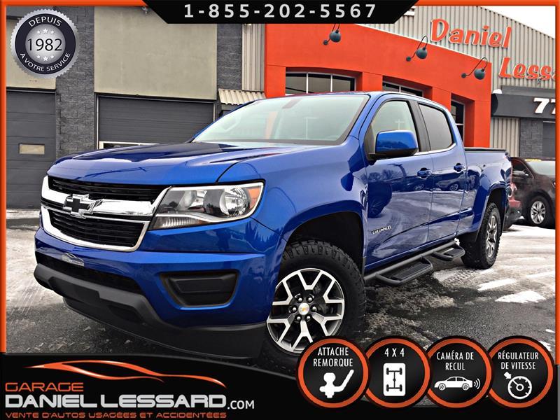 Chevrolet Colorado 2019 CREW CAB, 4WD, MARCHEPIEDS, TOILE ET PLUS #99748