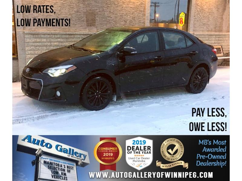 2015 Toyota Corolla S *B.tooth/Back.Cam/Roof/Htd Seats #24165
