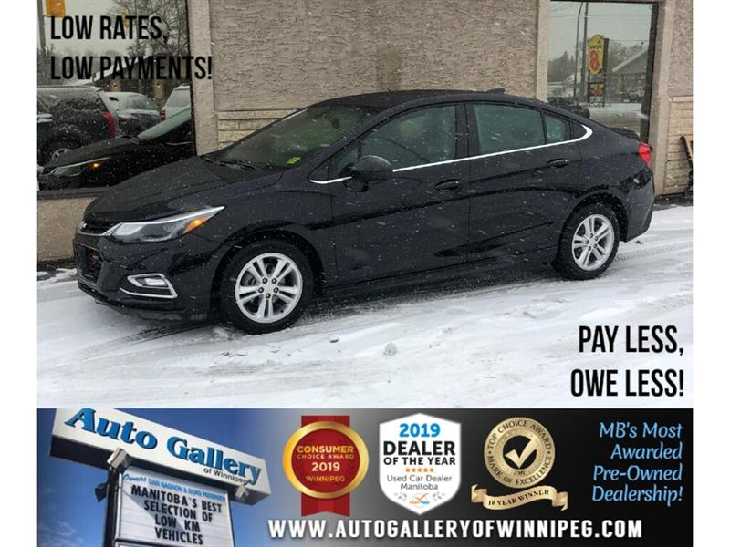 2016 Chevrolet Cruze LT* Accident Free/Roof/B.Cam/Htd Seats #PR-24182
