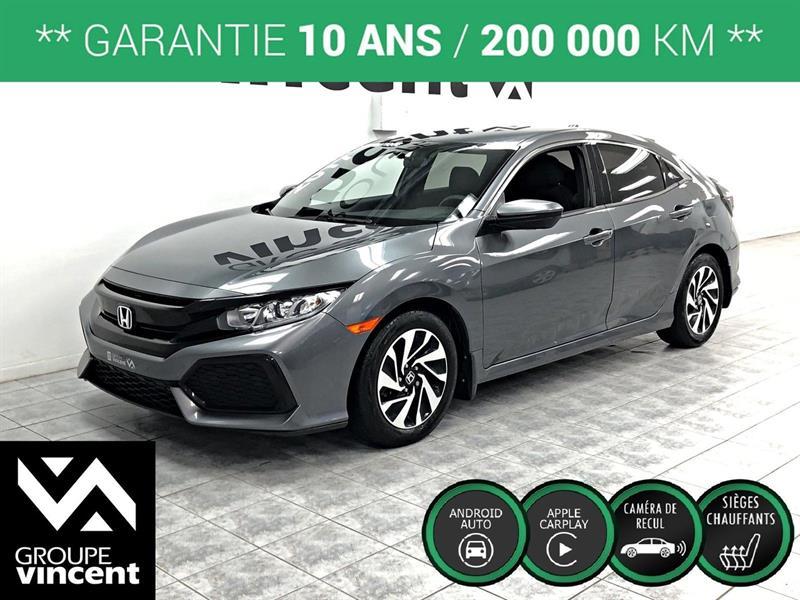 Honda Civic 2017 LX HATCHBACK TURBO ** GARANTIE 10 ANS ** #C4073AH