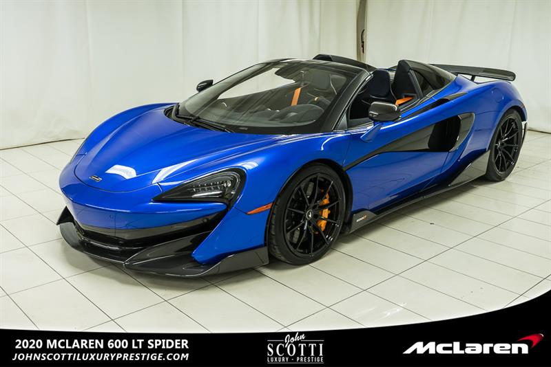 Mclaren 600LT 2020 Spider VEGA BLUE #C0427