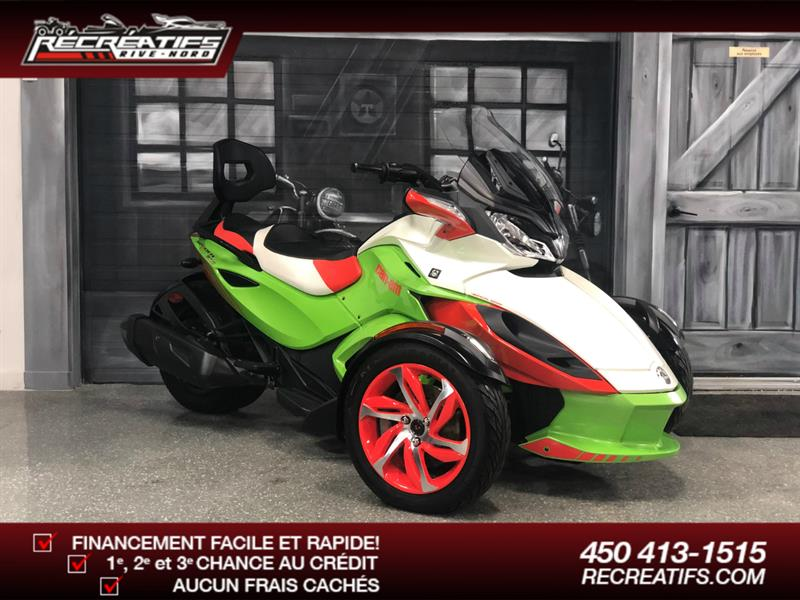Can-am Spyder ST-S 2015