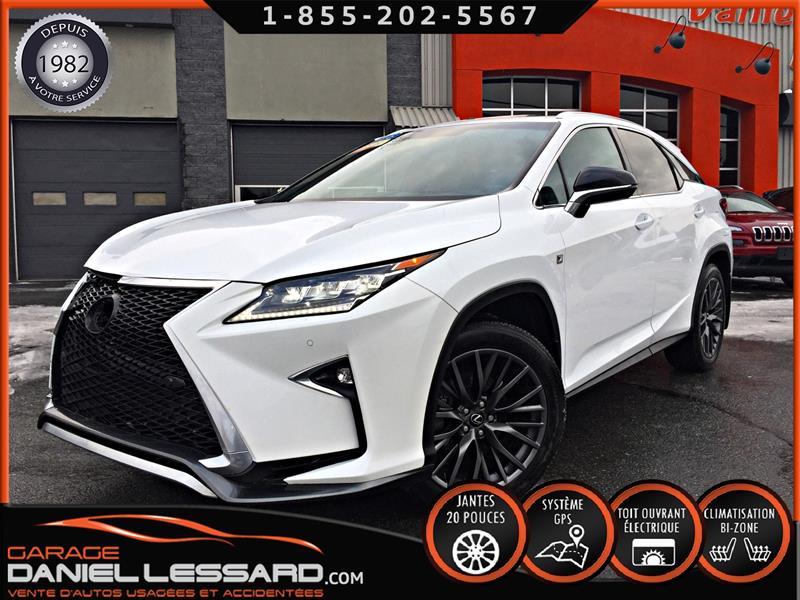 Lexus RX 350 2016 F SPORT ** PAS VGA **, CUIR, TOIT, GPS, MAG 20 P #69715