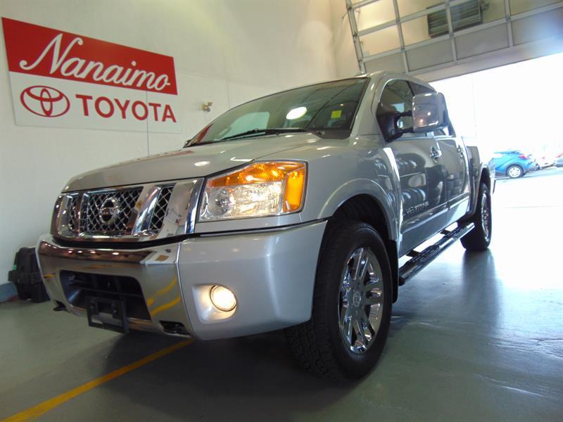 2012 Nissan Titan 4WD Crew Cab SL #21817A