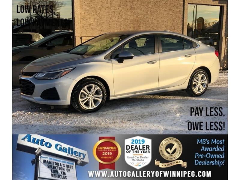 2019 Chevrolet Cruze LT *B.tooth/Back.Cam/Htd Seats/Low KMs #24205