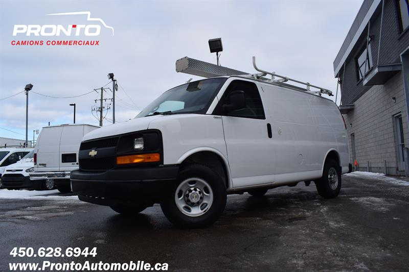 Chevrolet Express Cargo Van 2014 2500 ** 4.8L ** Gr. Électrique ** Full rack **  #1159
