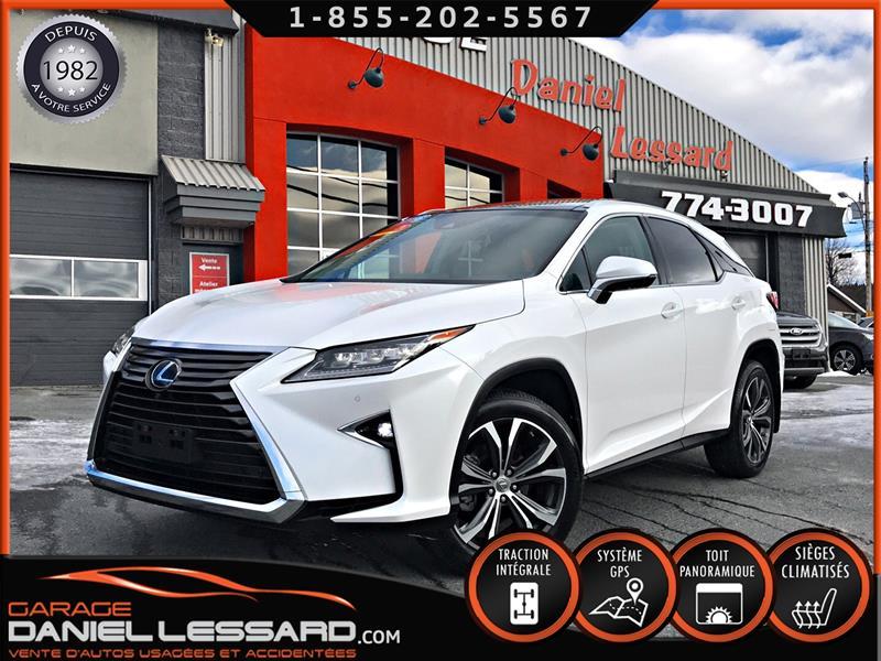 Lexus RX 350 2016 EXÉCUTIF, AWD, GPS, CUIR CHAUF + CLIM, TOIT PANO  #69664
