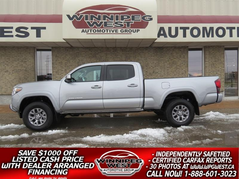 2019 Toyota Tacoma SR5 V6 4x4 DOUBLE CAB, LOADED, SHARP STILL AS NEW! #GW5360
