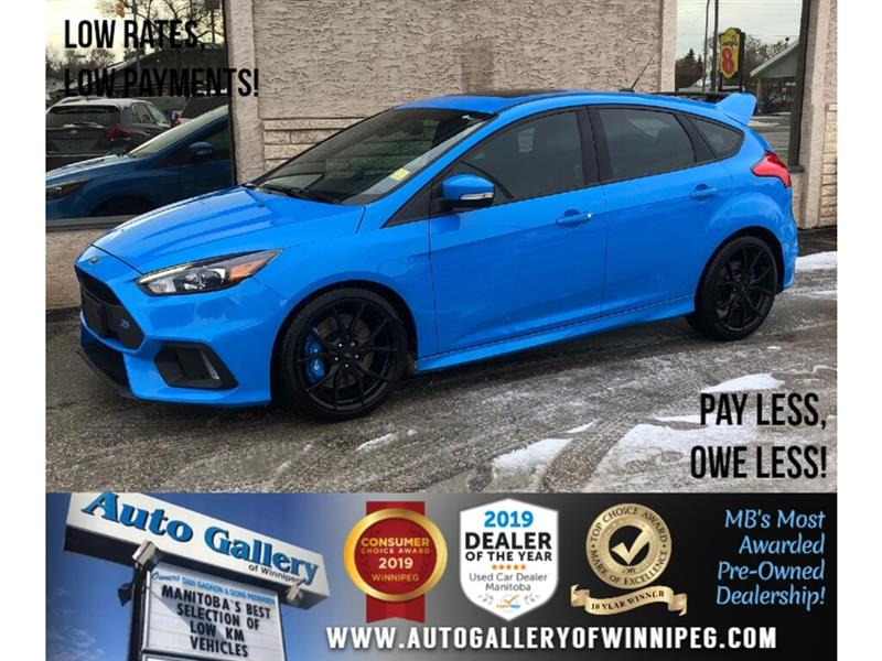 2016 Ford FOCUS RS *AWD/Navi/B.tooth/Htd Lthr/Roof/6Spd #24207