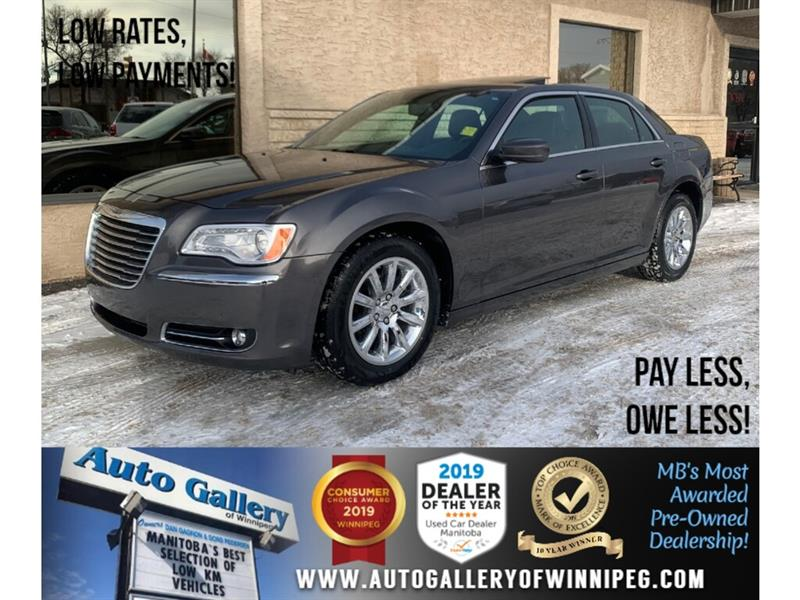 2014 Chrysler 300 Touring *MB Unit/Local Trade/RWD/B.tooth/Lthr/Roof #23949A