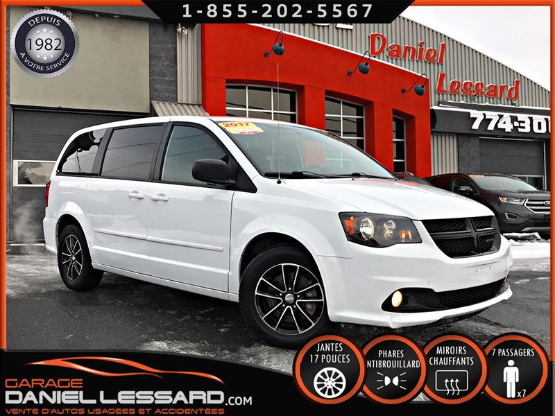 Dodge Grand Caravan 2017 SXT STOW N' GO 7 PLACES, MAGS 17'',  #79749