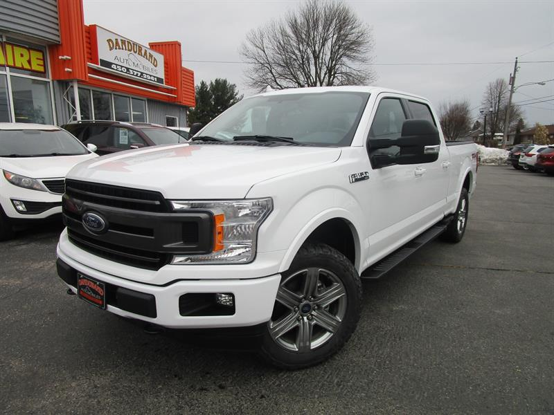 Ford F-150 2018 4WD SuperCrew Box #2637a