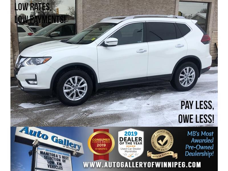 2019 Nissan Rogue SV *AWD/Pano Roof/B.tooth/Back.Cam/Htd Seats #24198