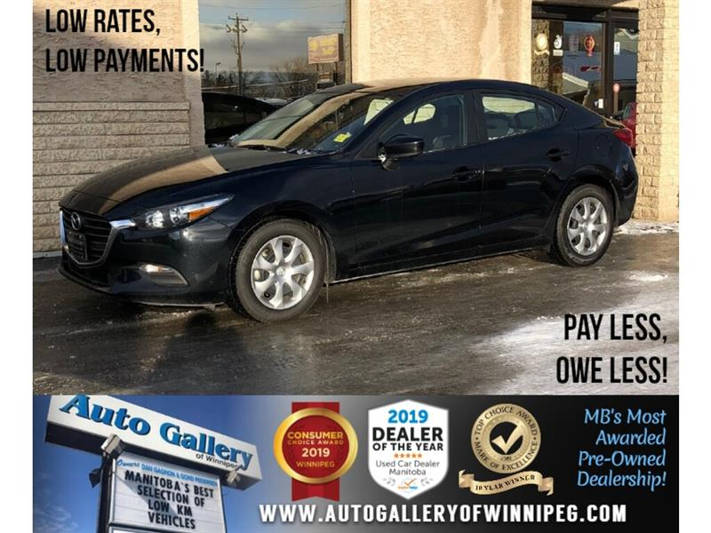 2018 Mazda Mazda3 GX *Local Unit/B.tooth/Back.Cam #24104