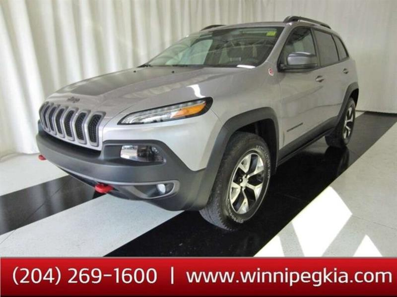 2018 Jeep Cherokee Trailhawk Leather Plus #18JC16296