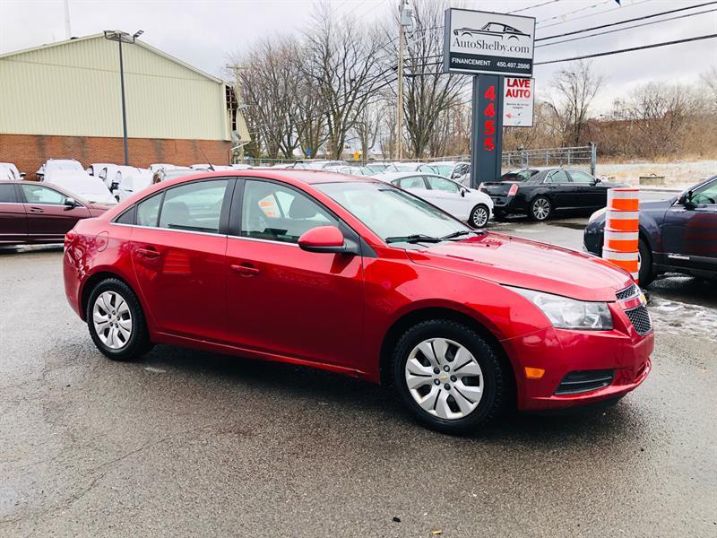 Chevrolet Cruze 2012 1.4L-Air-Bluetooth-Cruse-Econo-Jamais Accidentée #98703-2