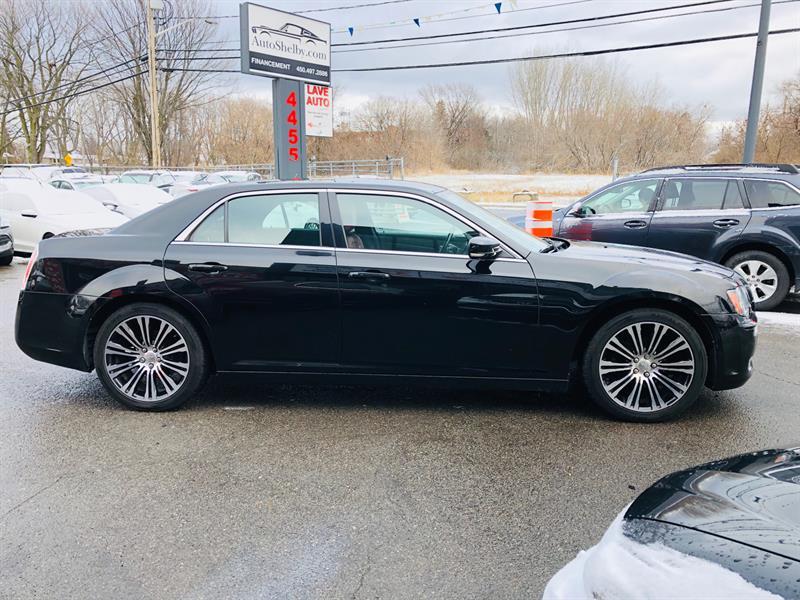 Chrysler 300 2012 300S-Cuir Rouge-Navi-Air-Mags-Jamais Accidentée   #98702-2
