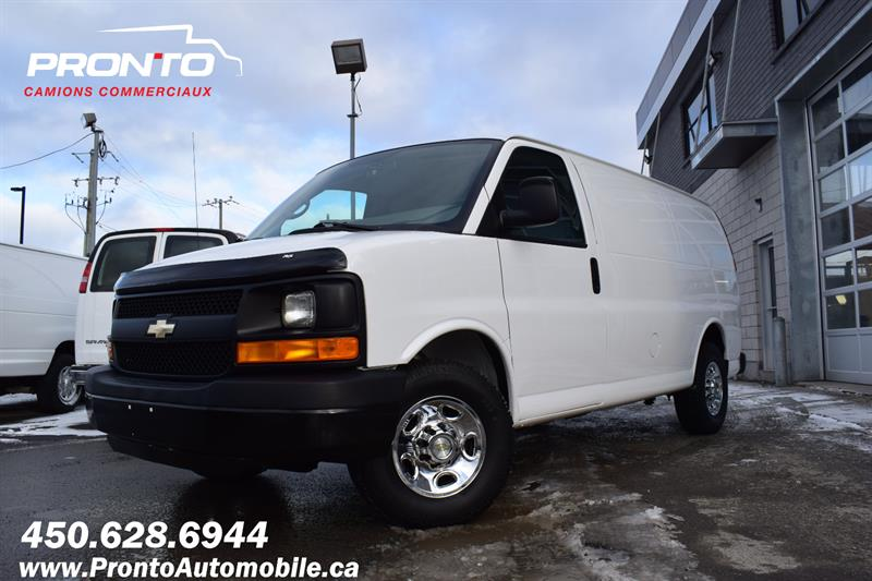Chevrolet Express Cargo Van 2012 2500 ** 4.8L ** Gr. Électrique ** Full rack **  #1162