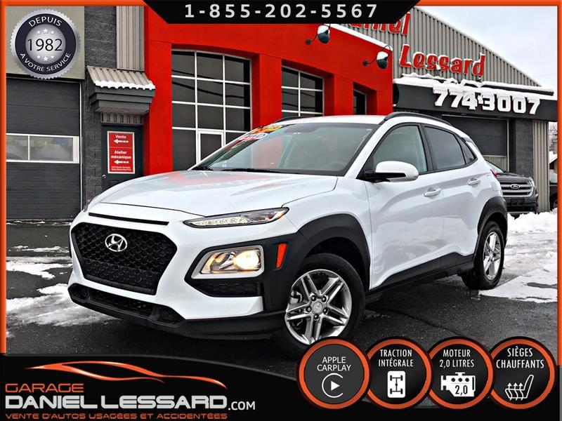 Hyundai Kona 2019 ESSENTIAL 2.0 L AWD, SIÈGES CHAUFFANT, MAGS 16''+  #99769
