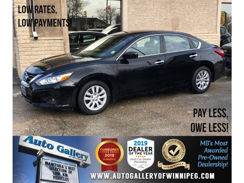 2018 Nissan Altima S *Local Unit/B.tooth/Back.Cam/Htd Seats #24106