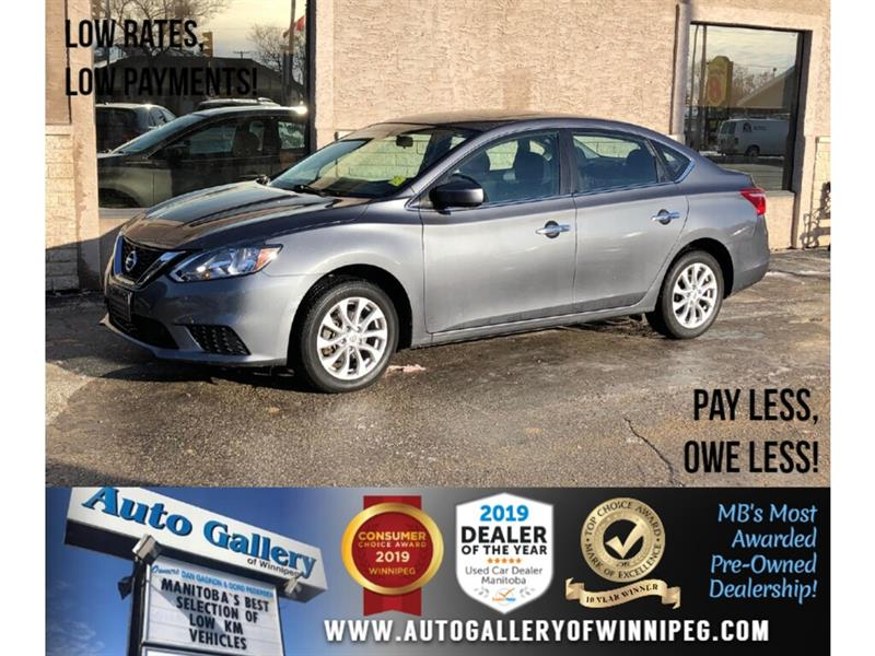 2018 Nissan Sentra SV *1 Owner/Accident Free/B.tooth/Htd Seats/Roof #24067