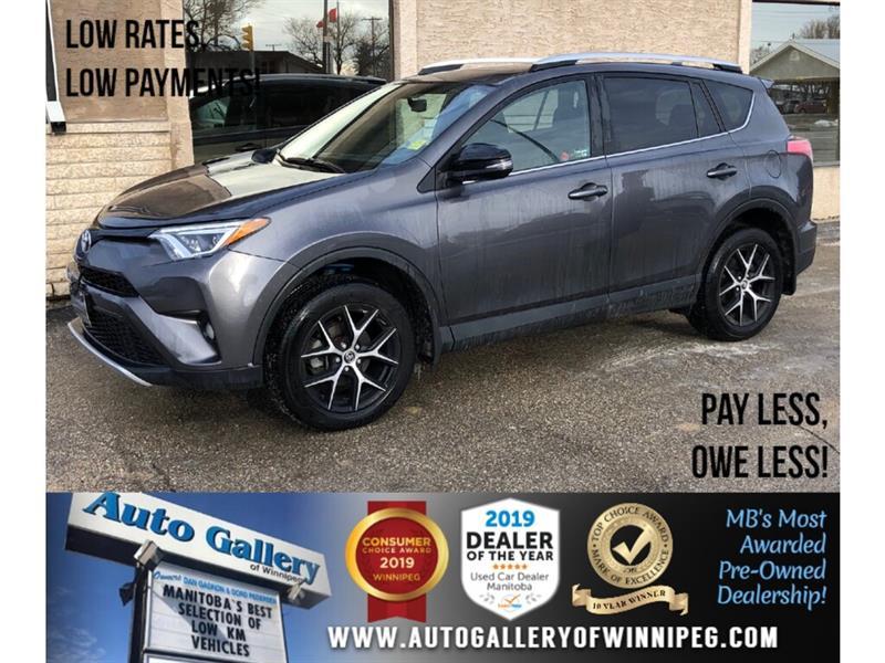 2016 Toyota RAV4 SE *AWD/Htd Lthr/Navi/Bluetooth #PR-23824