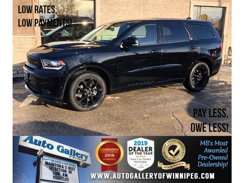 2018 Dodge Durango R/T *Local Unit/AWD/Navi/Btooth/Htd Lthr/Roof/HEMI #PR-24092