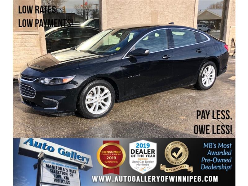 2018 Chevrolet Malibu LT *Bluetooth/Back.Cam #24113